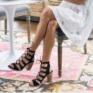   dolce vita   Lace Up Heels
